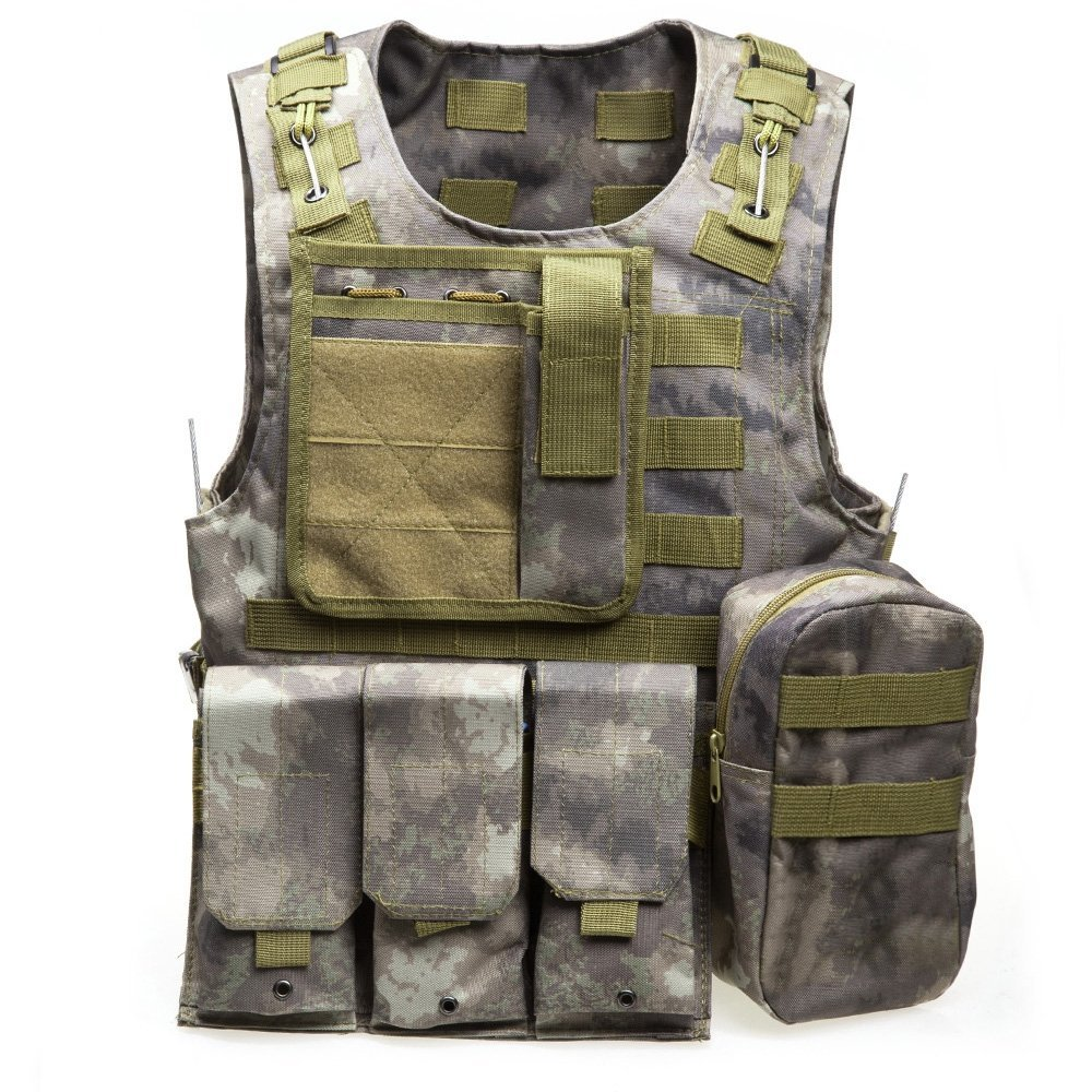 Bikers Shield Womens Air Force Design Vest Extender DVE186