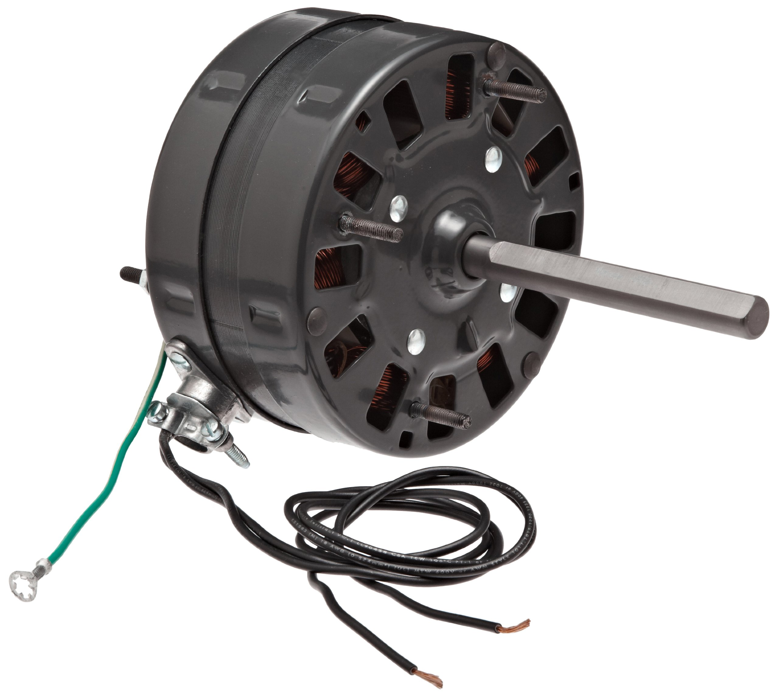 1500rpm 60Hz 1.1 amps 115V 1//40HP Fasco D126 3.3 Frame Open Ventilated Shaded Pole General Purpose Motor with/Sleeve Bearing