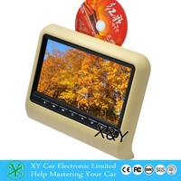 Best selling headrest 9 inch car dvd vcd cd mp3 mp4 player XY-7089