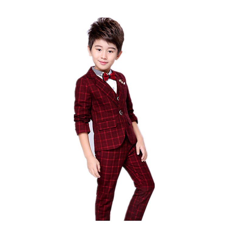 78f20b5838d Child Clothes boys formal wear baby boy mens dress groom suits boys navy  suit black wedding suits Set
