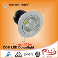 CITIZEN COB 15w ic rated led downlight dimmable led residential light