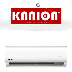 2018 KANION new design wall split mounted type air conditioner mini split ac with hidden led panel