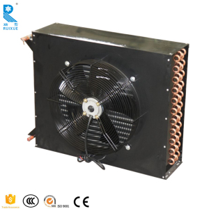 Hot Sale Wholesales Price High Temperature Efficient Air Cooled Industrial Copeland Tube Fin H Type R404a Condenser