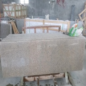 Chinese supplier Shrimp red granite slabs for kitchen counters bar tops reception countertops