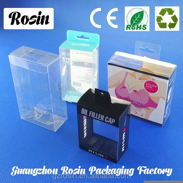 Wholesale PVC/PET/PP Clear Plastic Hanging Retail Packaging
