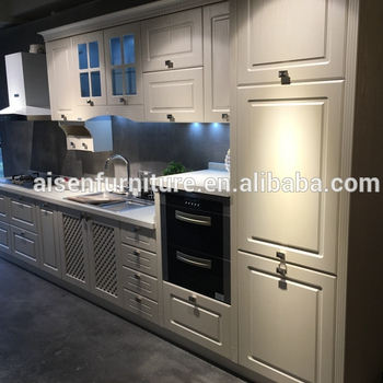 Modern Kitchen Furniture Modular Pvc