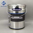 5 gallon metal paint can open head,20L tin pail with lid&handle,conical tinplate barrel manufacturers
