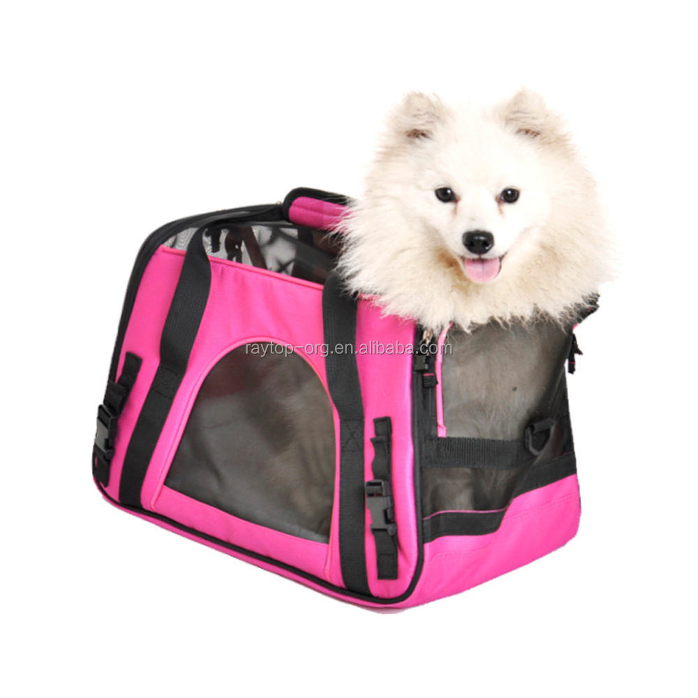 2018 Newly Designed Soft Side Pet Carrier for Dogs and Cats