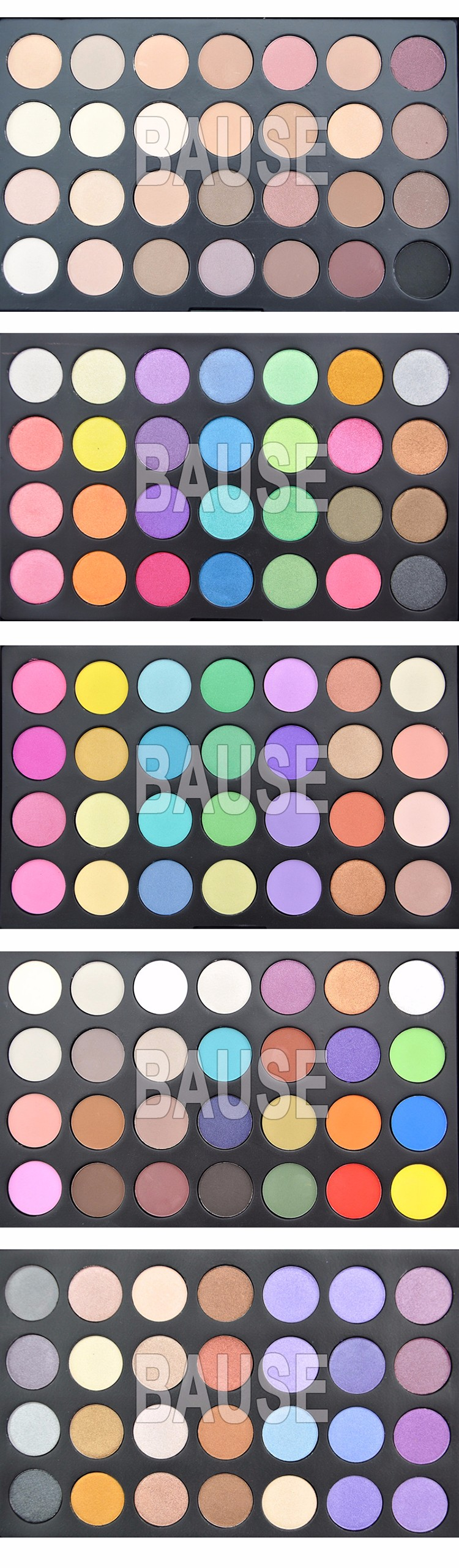 Chinese makeup brands 28 colors eye shadow palette oem korean makeup 28 color eyeshadow palette