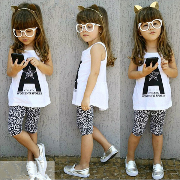 2015 new fashion summer casual girls kids clothes 2pcs sets polka dot sundress + pants baby clothing suit
