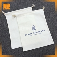 Simple Ecology eco friendly reusable drawstring White Organic Cotton Muslin Produce Bag