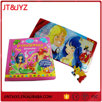 Newest Desgin china printing book, children sticker book, children clothing sticker books