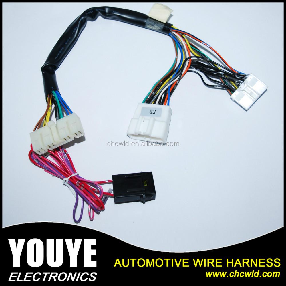 2016 Youye Oem Bagian Pabrik Power Window Auto Wiring Harness Wire Otomotif