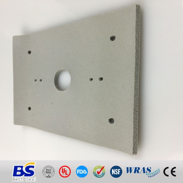 Molded Foam Square Rubber Gaskets, Closed Cell Foam Rubber Washer