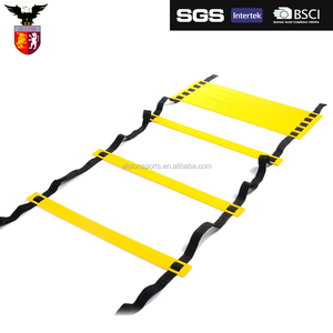 Soccer ball/ Football training adjustable speed sports agility Ladder