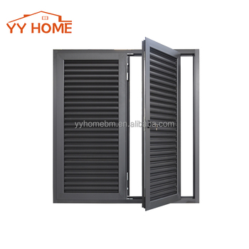 aluminum blades louvre doors and windows Residential House with WERS aluminium vented exterior door  sc 1 st  Alibaba & Aluminum Blades Louvre Doors And Windows Residential House With Wers ...