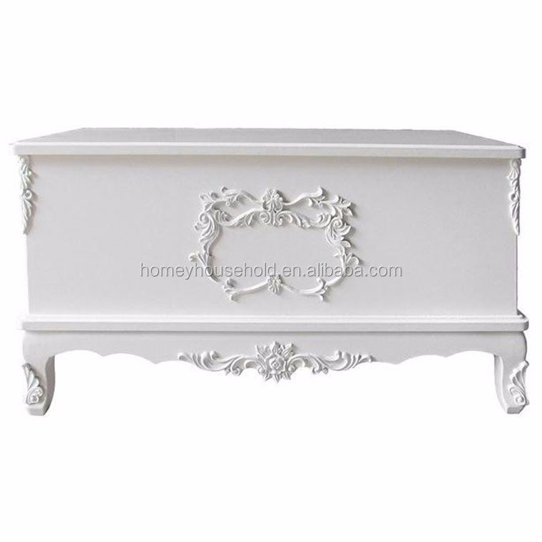 Remarkable White Bench Furniture Wooden Toy Box Shoe Trunk Home Shabby Chic Hall Storage Uk Buy Trunk Bench Classic Baroque Ottoman Solid Wood Baroque Ottoman Squirreltailoven Fun Painted Chair Ideas Images Squirreltailovenorg