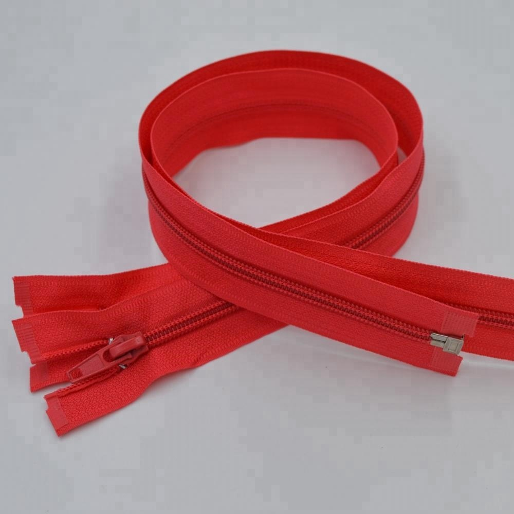 Guanlong brand customized red 5# nylon zippers for sale