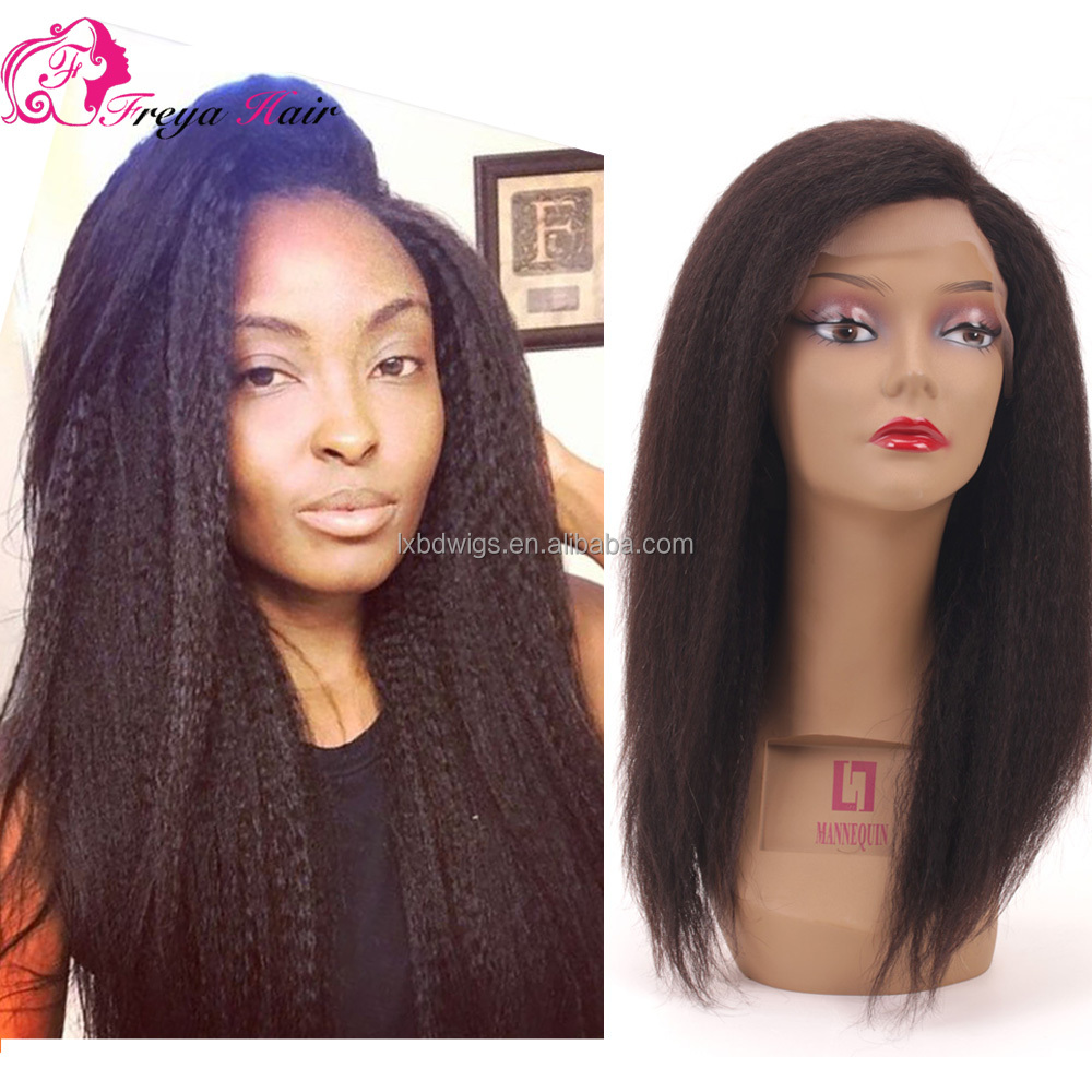 Good Quality Best Selling Kinky Straight Virgin Brazilian Human Hair Wig