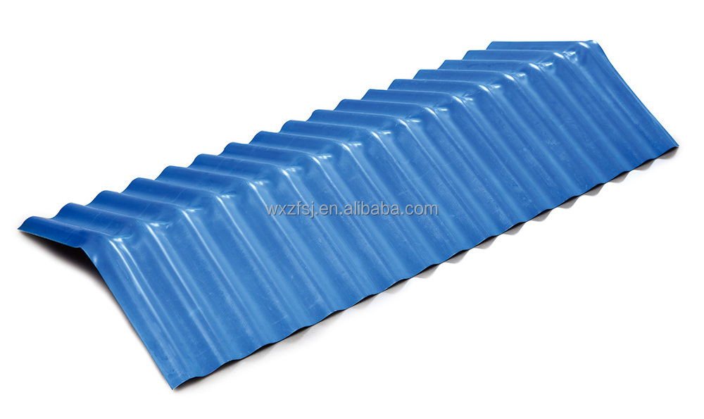 Colour Corrugated Pvc Roof Shingles With Different Size