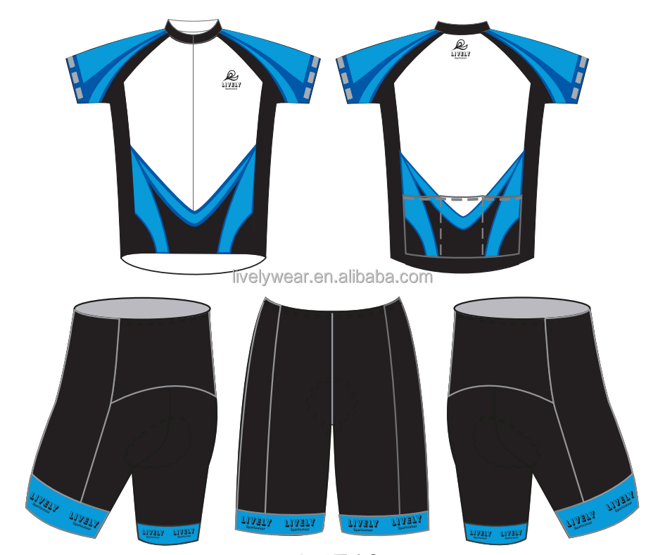 Livelywear-- custom design dry fit sublimation maillot cycling, ciclismo clothing no minimum