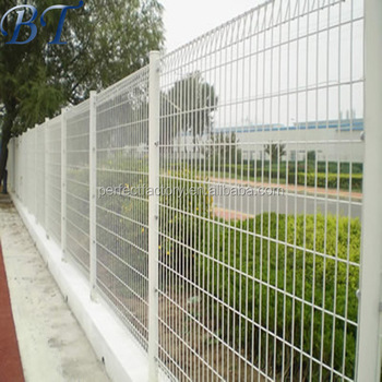 Decorative Park Lawn Wire Sheet Metal Welded Brc Fencing/roll Top ...