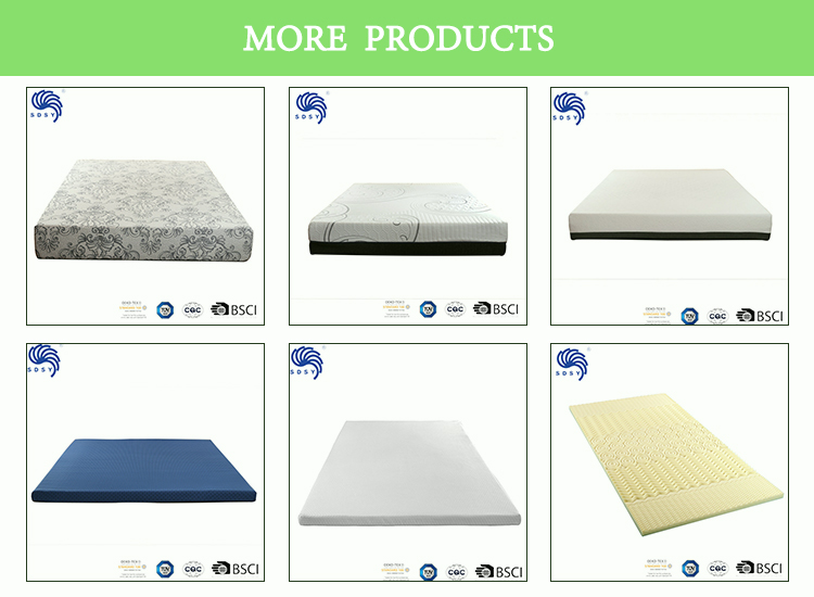 Factory price sleep well thin foam mattress