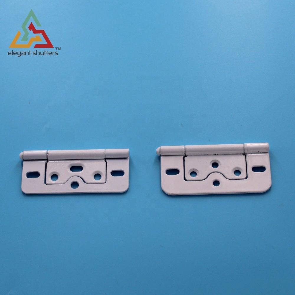 12pcs Mini Metal Hinge with Screws for 1//12 Dollhouse Miniature Furniture TS