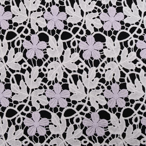 High Quality African Guipure Chemical Lace Fabric