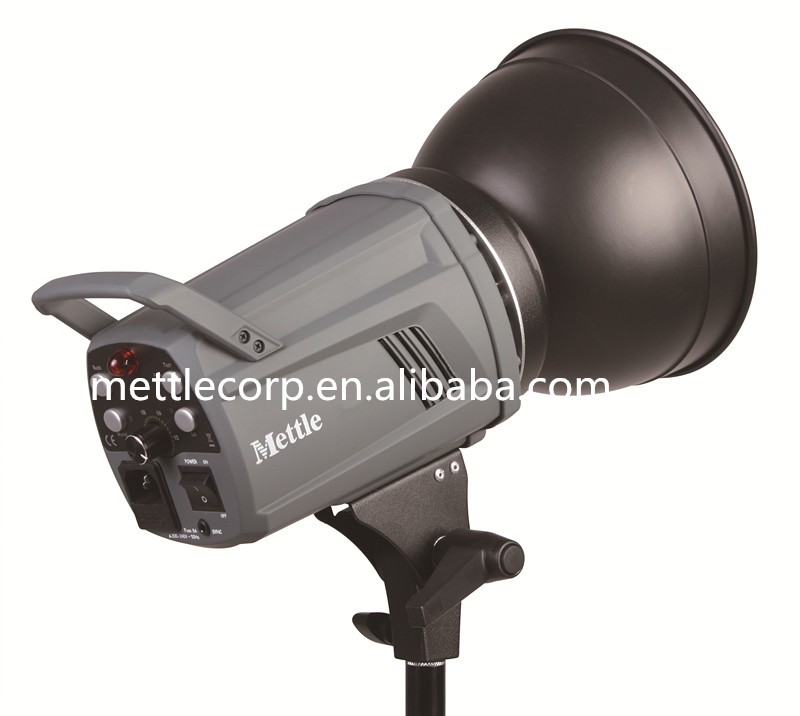 Mettle 400W Professional Studio Flash Strobe Light for Photography