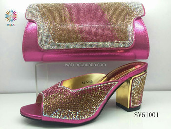 603b01be0a4 SV61001- (1)-fuchsia pink Italian fashion sandal with stones matching with  mid