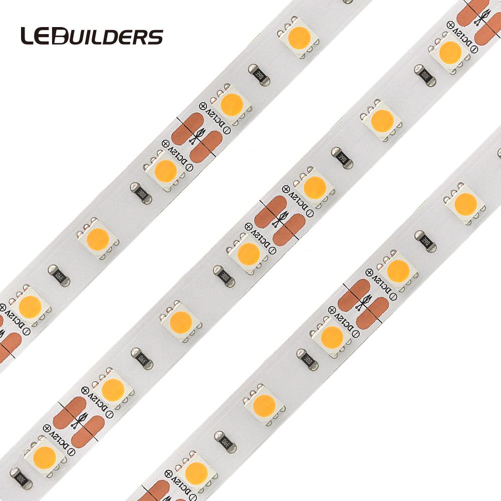 Hot selling led strip 5050 heat resistant led strip light 60leds/m 24V factory from China