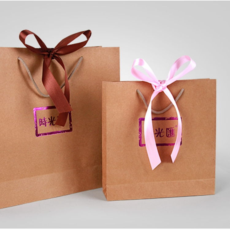 Fashion Takeaway Food Paper Bags,Bakery Use Paper Bags