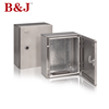 B&J Customized Small Size Stainless Steel Electronic Enclosure Distribution Box