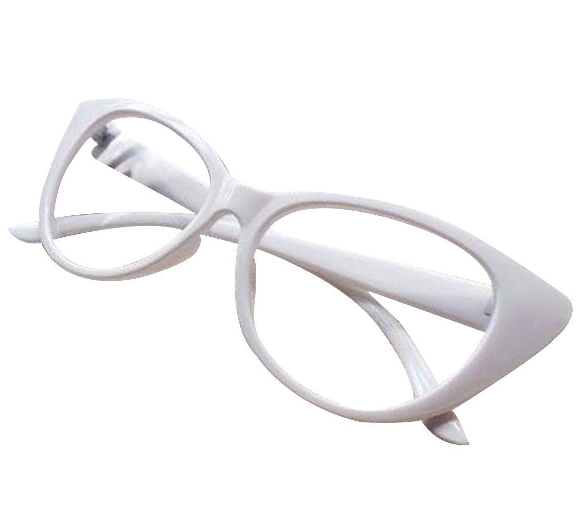 d7573745e4e90 Aimeart Retro Vintage Women s Eyeglasses Cat Eye Glasses Plastic Frame NO  LENS