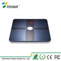 led digital bluetooth bathroom personal visceral balance body weight fat scale