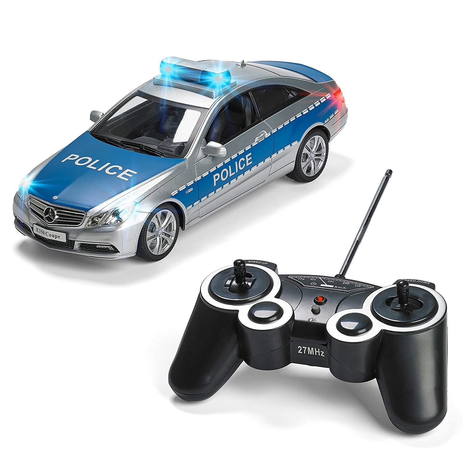 buy mercedes rc police car remote control police car radio control police car great christmas. Black Bedroom Furniture Sets. Home Design Ideas