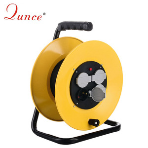 factory supply home appliance application waterproof extension Cable Reel with cover IP44 QC2250A-0R