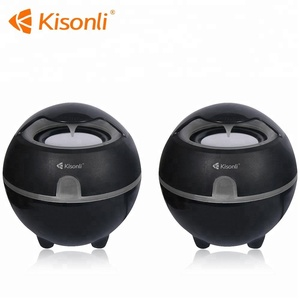 2.0 Portable USB Mini Speaker/Computer Woofer 3W Speaker With LED light