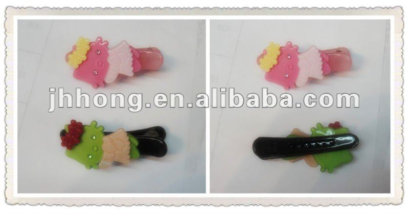 2015 Cat Kids and Children Acrylic Hair Clip
