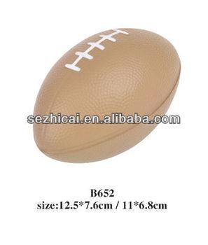 Custom Design Rugby Pu Foam Mini Ball Toy American Football Stress