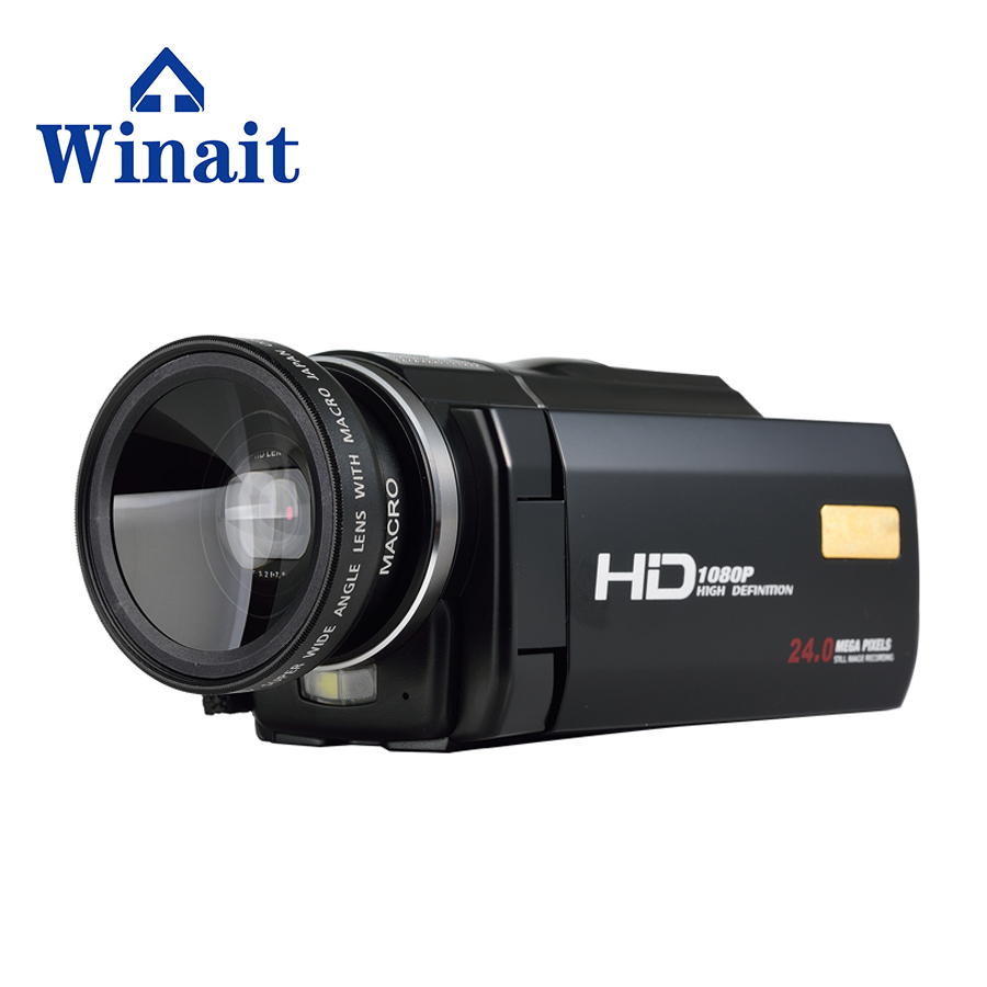 Hot Selling 24Mp Wifi HDV-F5 Digital Camcorder Video Camcorder 1920x1080P Full HD 3