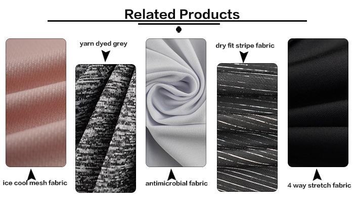 % 100% polyester kuş gözü örgü kumaş spor tişört hızlı kuru