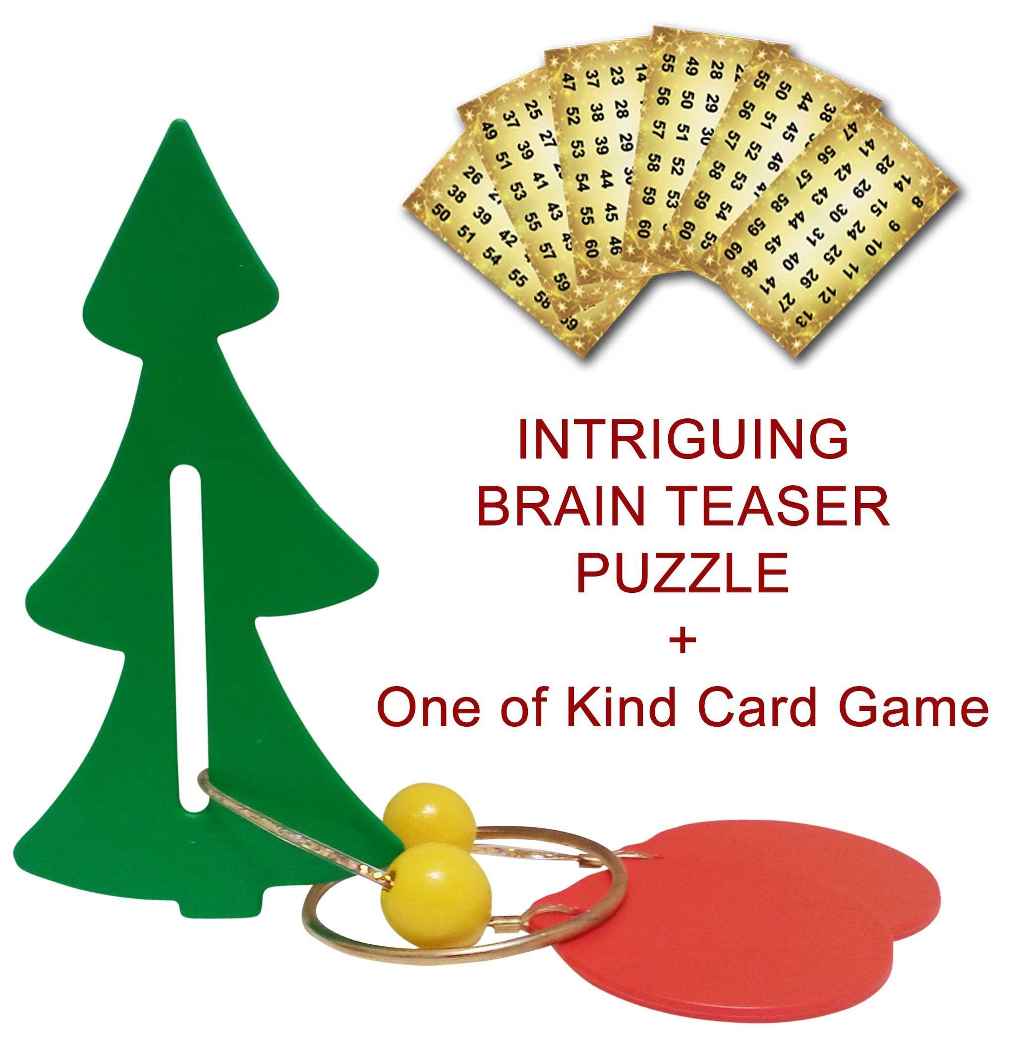 Buy Super Fun Novelty Christmas Tree Brainteaser Puzzle ...