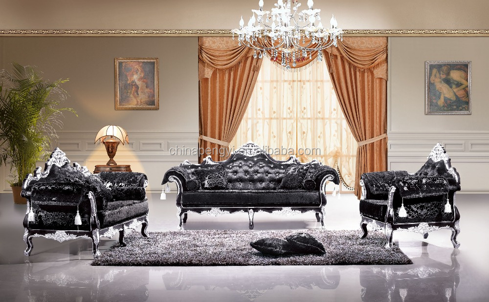 Luxury Furniture Italian Style Living Room Sofa Set - Buy Living ...
