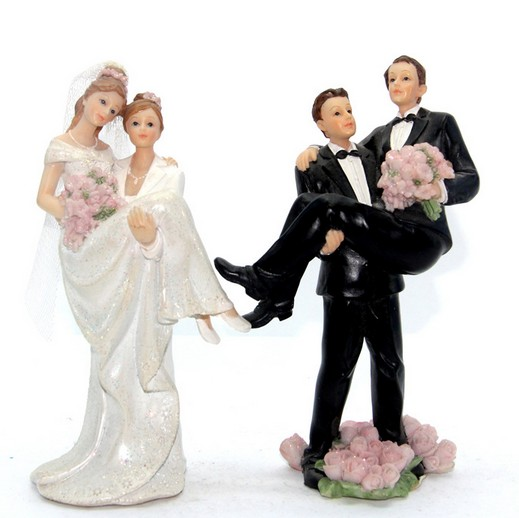 cake decoration resin gay lesbian cake topper figurine for wedding decoration buy small resin figurinesgay resin figurinewedding gift product on - Figurine Mariage Gay