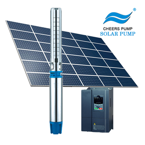 solar water pump 211m head for agriculture price, solar submersible well pump