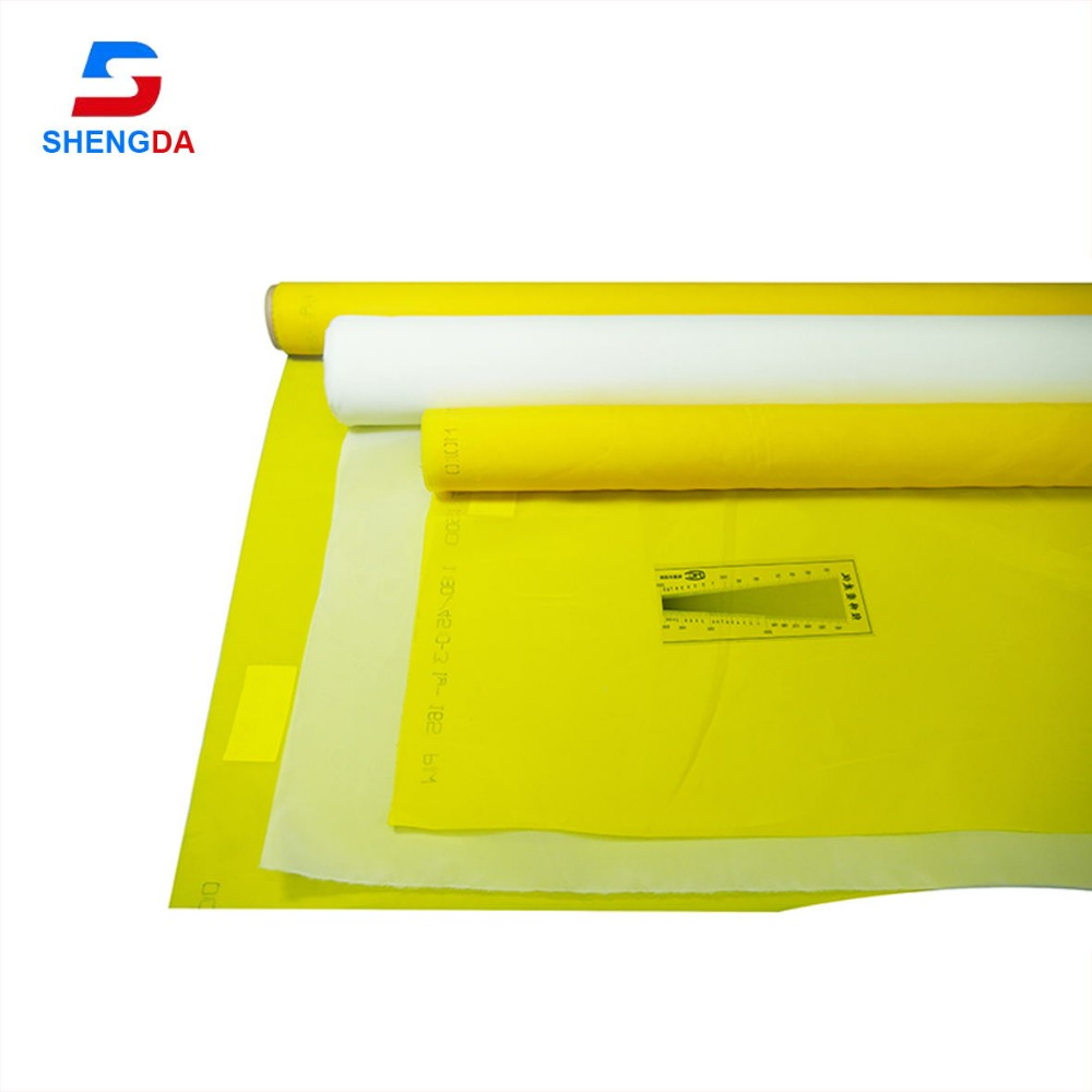 top quality 90t polyester screen printing mesh from Shengda factory