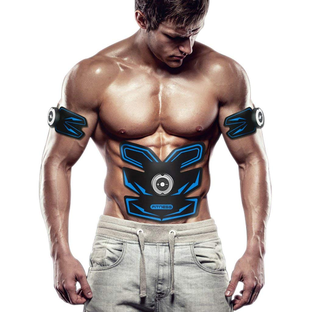 TY BEI Abdominal Fitness Equipment Home Smart Belly Stickers Muscle Training Instrument Male Lazy Abdominal Training Belt