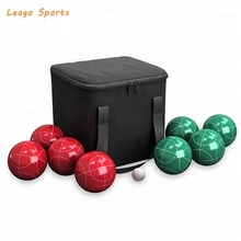 90mm <span class=keywords><strong>Hars</strong></span> Bocce Bal Set, Custmed Bocce Bal Set, Boule Set
